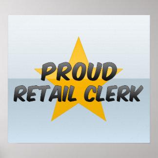 Proud Retail Clerk Posters