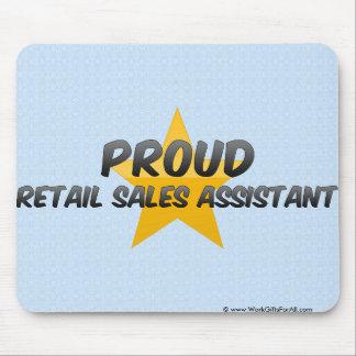 Proud Retail Sales Assistant Mouse Pad