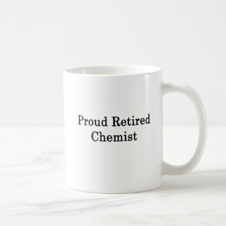 Proud Retired Chemist Coffee Mug