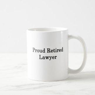 Proud Retired Lawyer Coffee Mug