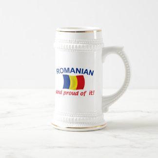 Proud Romanian Beer Steins