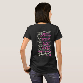 Proud Roofer Wife T-Shirt