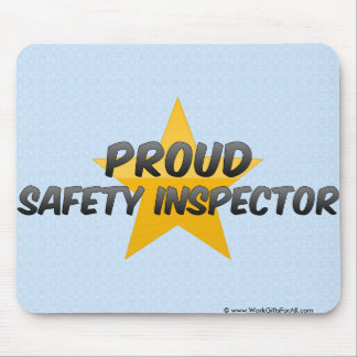 Proud Safety Inspector Mouse Pads