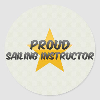 Proud Sailing Instructor Stickers
