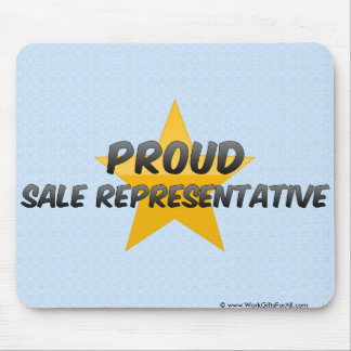 Proud Sale Representative Mouse Pads
