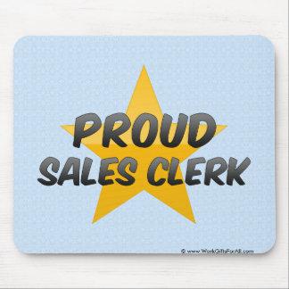 Proud Sales Clerk Mouse Pad