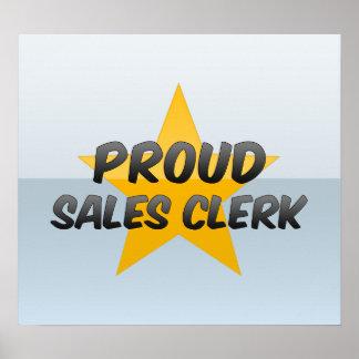 Proud Sales Clerk Print