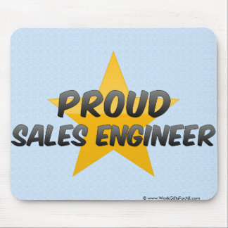 Proud Sales Engineer Mouse Pads
