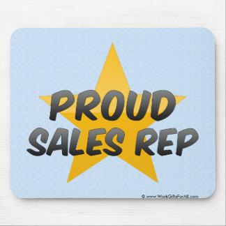 Proud Sales Rep Mousepad