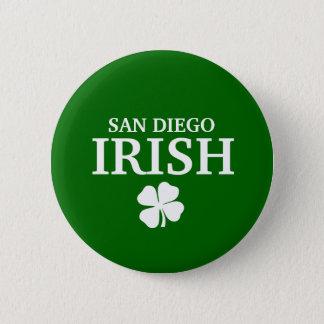 Proud SAN DIEGO IRISH! St Patrick's Day 6 Cm Round Badge