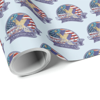Proud Scottish American Gift Wrap