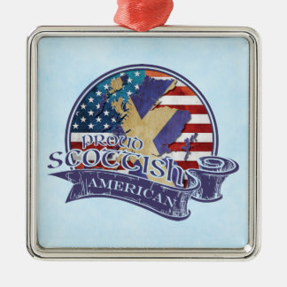 Proud Scottish American Ornament