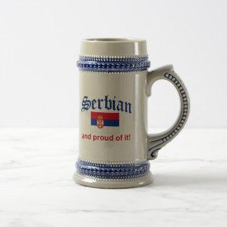 Proud Serbian Beer Steins