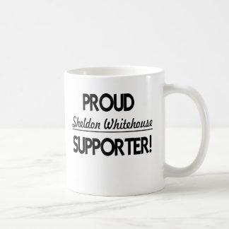 Proud Sheldon Whitehouse Supporter! Basic White Mug