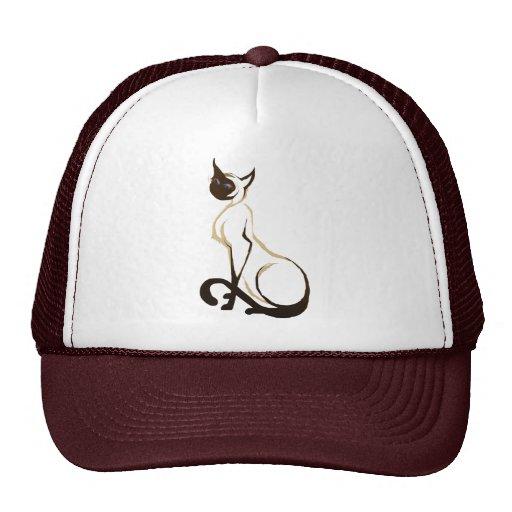Proud Siamese Cat Hat