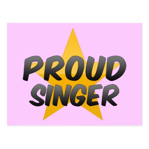 Proud Singer Postcards