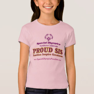Proud Sis youth fitted tee