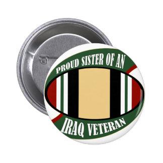 Proud Sister 6 Cm Round Badge