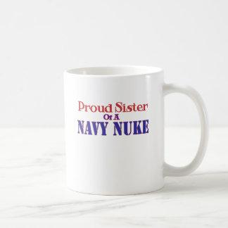 Proud Sister of a Navy Nuke Mugs