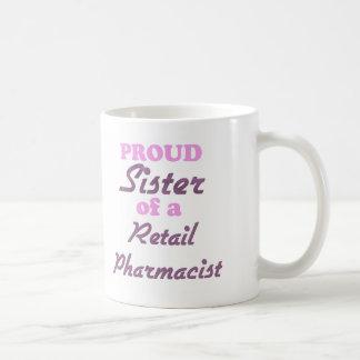 Proud Sister of a Retail Pharmacist Mugs