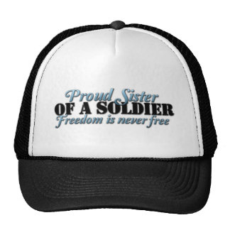 Proud SIster of a Soldier Cap