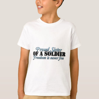 Proud SIster of a Soldier Tees
