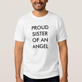 PROUD SISTER OF AN ANGEL TEES