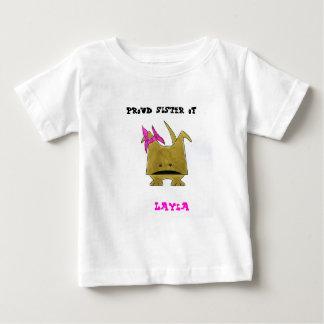 """""""Proud Sister of Layla"""" Baby Tee"""