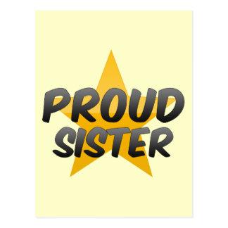 Proud Sister Postcards