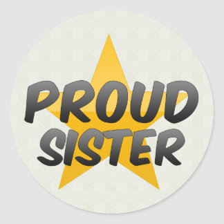 Proud Sister Stickers