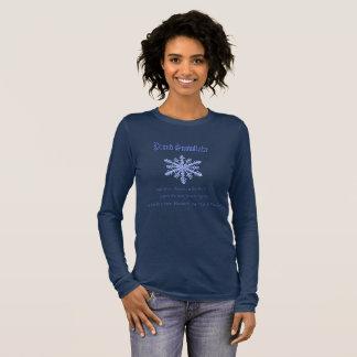 Proud snowflake long sleeve shirt