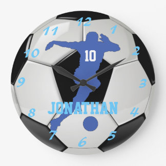 Proud Soccer Mom Personal and Customizable Large Clock