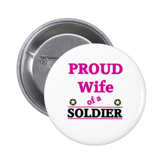 Proud soldiers Wife Pins
