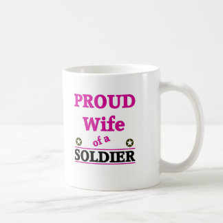 Proud soldiers Wife Coffee Mugs