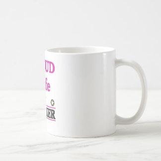 Proud soldiers Wife Coffee Mug