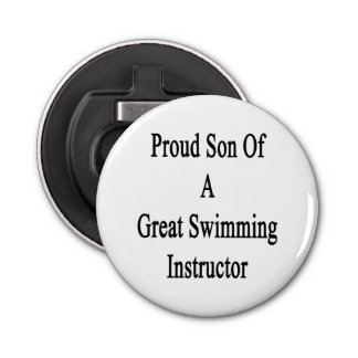 Proud Son Of A Great Swimming Instructor