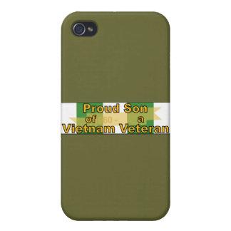 Proud Son Of A Vietnam Veteran iPhone 4/4S Cover