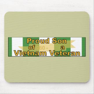 Proud Son Of A Vietnam Veteran Mousepads