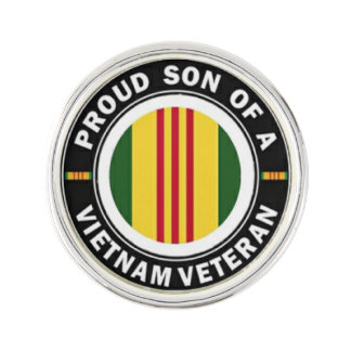 Proud Son of Vietnam Vet Lapel Pin