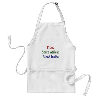 Proud South African Blood Inside Standard Apron