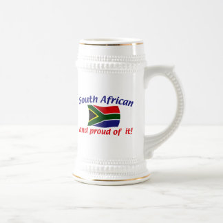 Proud South African 18 Oz Beer Stein