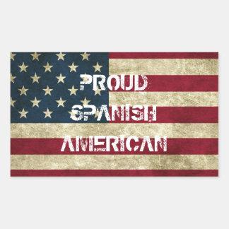 Proud Spanish American Sticker