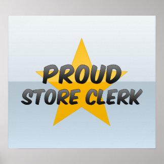 Proud Store Clerk Posters