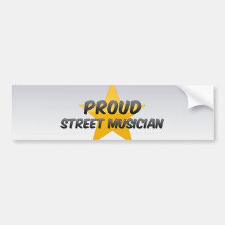Proud Street Musician Bumper Stickers
