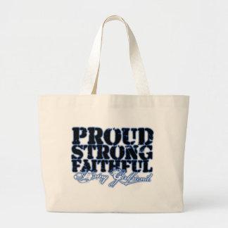 Proud, Strong, Faithful Canvas Bag