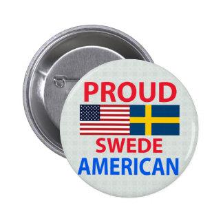Proud Swede American Pins