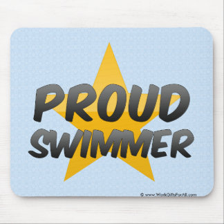 Proud Swimmer Mouse Pad