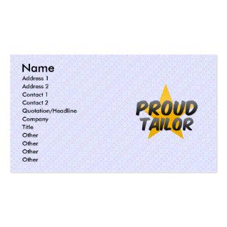 Proud Tailor Business Card Templates