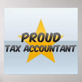 Proud Tax Accountant Print