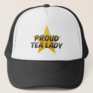 Proud Tea Lady Trucker Hat